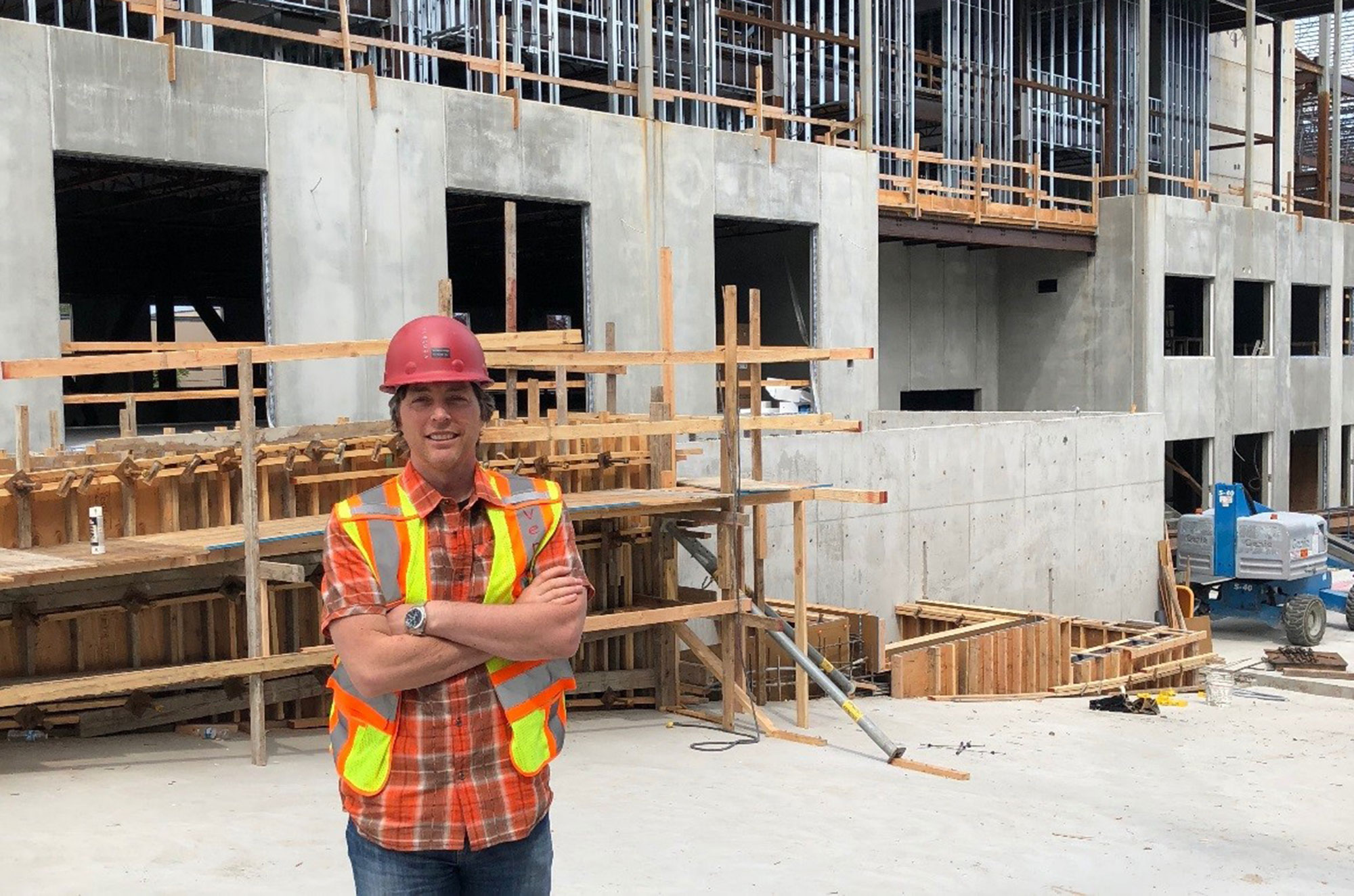 From Frame to Vision: A Construction Update at IRONWORKS from Project Manager Steve Craig